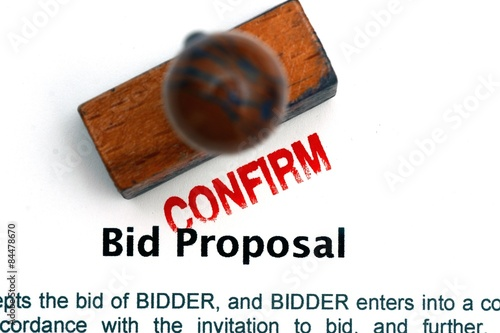 Spoed Foto op Canvas Canada Bid proposal form