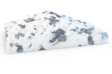 Fototapeta na wymiar iceberg