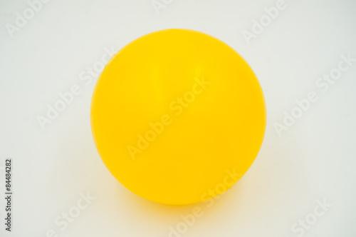 Fototapeta yellow ball obraz na płótnie