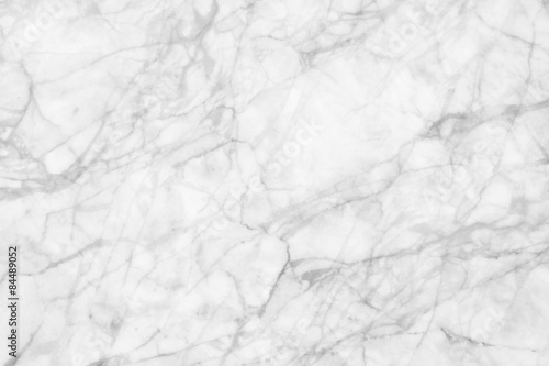 obraz dibond White marble patterned texture background. Marbles of Thailand abstract natural marble black and white gray for design.