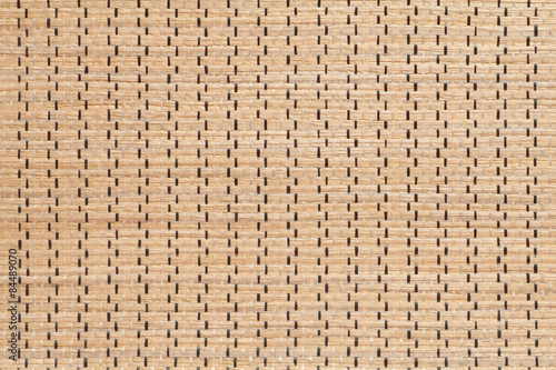 In de dag Leder Woven rattan texture background