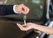 Car, dealership, handshake.