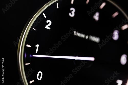 Photo  Car, speedo, rev.