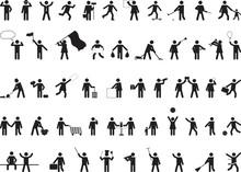 Common Pictogram People Activities