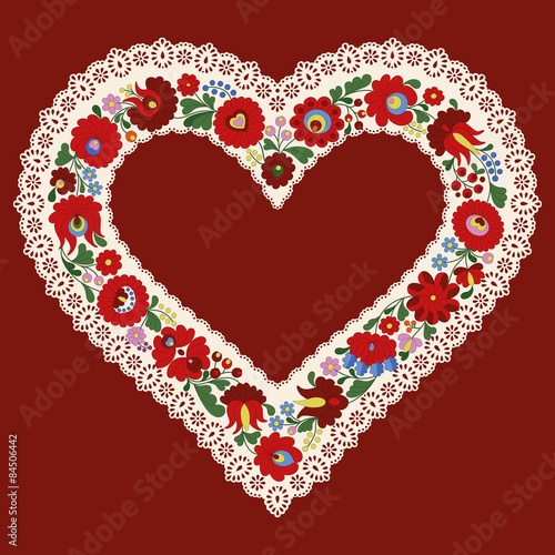 hungarian-embroidery-heart-frame-ribbon-with