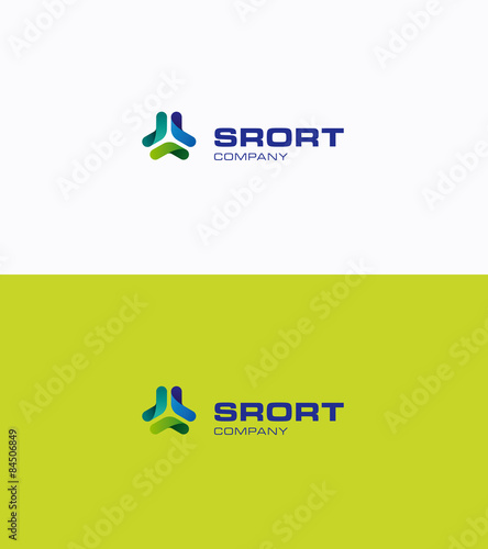 Sport logo Wallpaper Mural