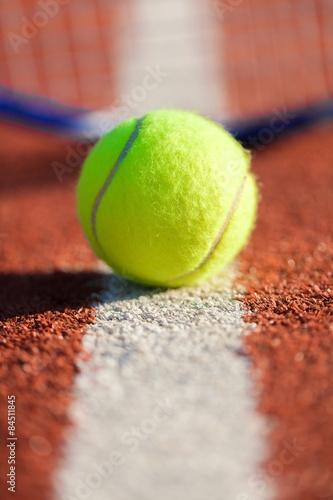Tennis, Tennis Ball, Serving. Tableau sur Toile