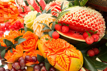 Fruit Carved Shape Beautiful F...