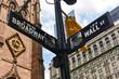 Broadway and Wall St, Manhattan