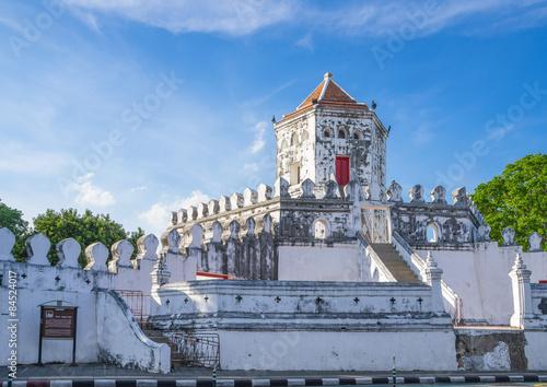 Papiers peints Fortification Phra Sumen Fort Bangkok, Thailand. The hexagonal-shape concrete
