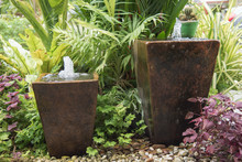 Fountain From Pot