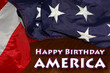 Happy Birthday USA: 4th of July, Independence Day background