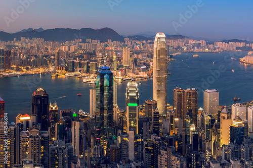 Photo  Hong Kong city scenes