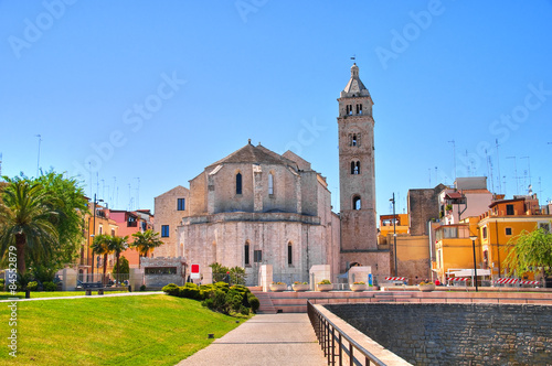Foto op Canvas Monument Cathedral church of Barletta. Puglia. Italy.