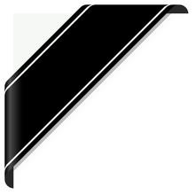 Black Mourning Banner