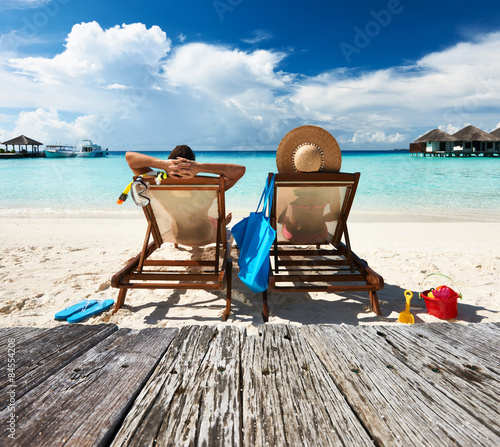 Fotografie, Obraz Couple on a beach