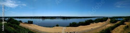 Valokuva  Panorama Wisły i Sobótki w Płocku