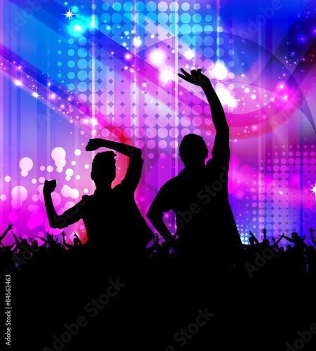Disco Party Music Event Background Kaufen Sie Diese Illustration