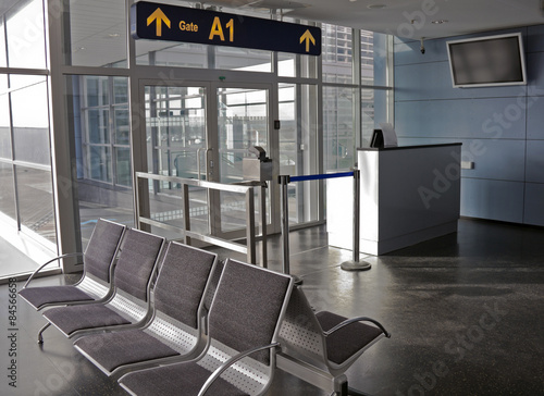 Poster Aeroport Airport gate