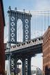 Manhattan Bridge. New York City.