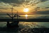 Fisherman Boat, Hua-Hin Beach, Thailand