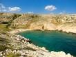 einsame Bucht mit türkisem Wasser in Kroatien