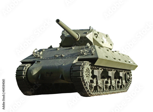Photo US WW2 M10 tank destroyer