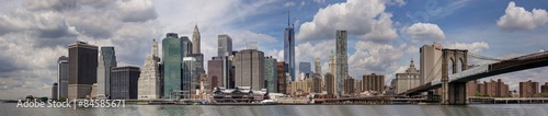 Fototapeta New York - Panorama di Manhattan obraz