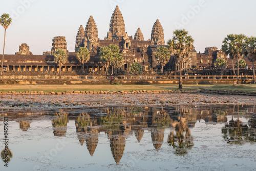 Spoed Fotobehang Bedehuis Angkor Wat, Kambodscha, Tempel, Siem Reap