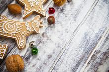 Christmas Gingerbread Cookies ...