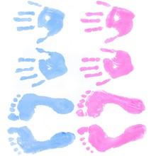 Baby, Human Hand, Footprint.
