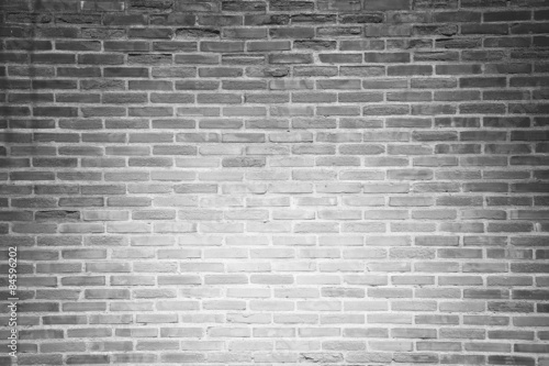 Gray grunge brick wall texture background