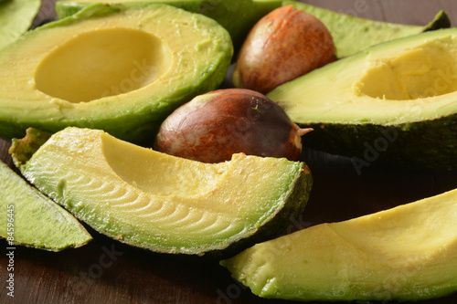 Canvastavla Avocado