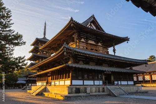 Foto  Horyu-ji Temple in Nara, Japan