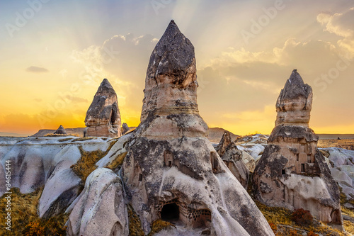 Vászonkép phallic rock in cappadocia, turkey.