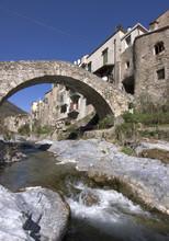 Typical Ligurian Village