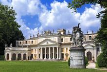 Villa Pisani, Famous Venetian Villas In The Veneto Region (Italy).