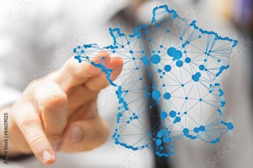 Obraz na plátně  Francie