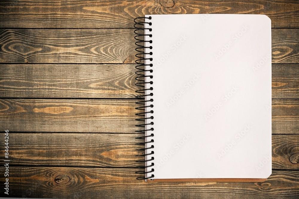 Fototapeta List, pad, write.