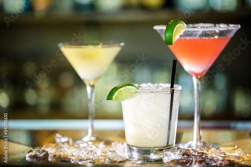 Cocktails Obraz na płótnie