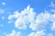 Beautiful cloud in blue sky