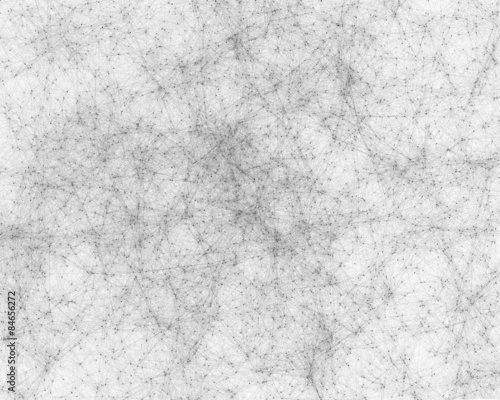 Background with cybernetic particles