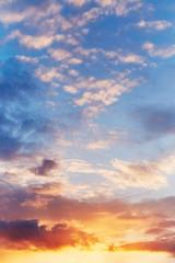 Panel Szklany Sunset