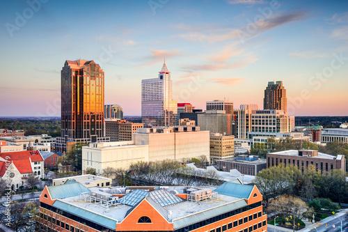 Spoed Foto op Canvas Verenigde Staten Raleigh North Carolina