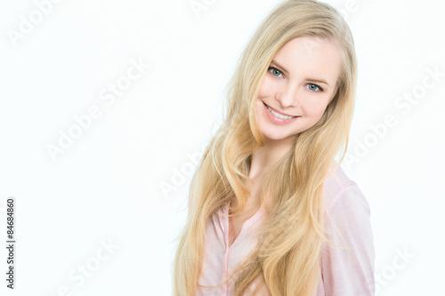 Fotografie, Tablou  Smiling blonde