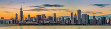 Chicago Downtown Skyline And L...