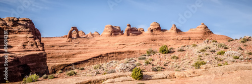 arches national park near delicate arch Poster Mural XXL