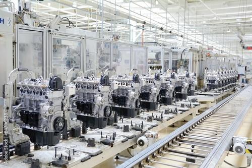 Fotografía  Manufactoring motor