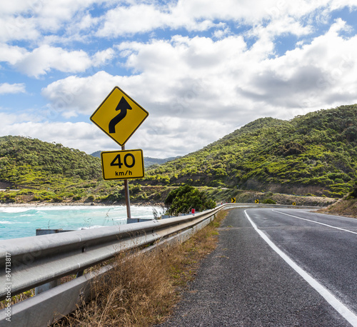 Foto op Canvas Australië The great ocean road in Australia