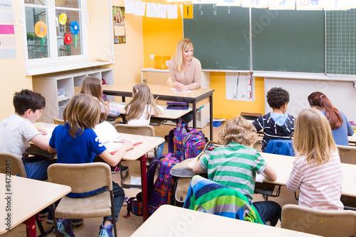 Plakat w klasie